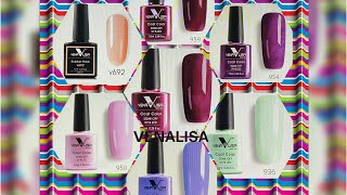 VENALISA GEL POLISHES AND VENALISA COLOR RUBBER BASE