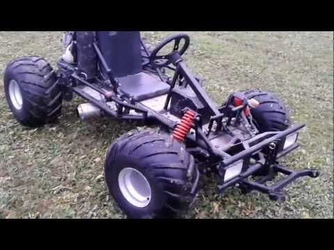 motor go kart mit honda cbr 600f motor youtube. Black Bedroom Furniture Sets. Home Design Ideas