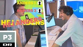 Anders & Anders skal til gammel elevfest