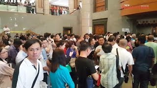 Thousands swarm Immigration Department as E-Card registration deadline nears