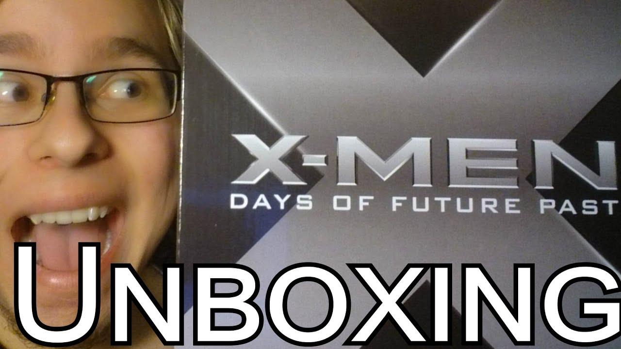 xmen days of future past amazon exclusive unboxing