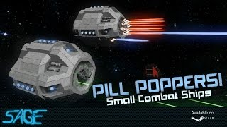Space Engineers, Pill Poppers (Small Combat Ships, Star Wars Weapons)