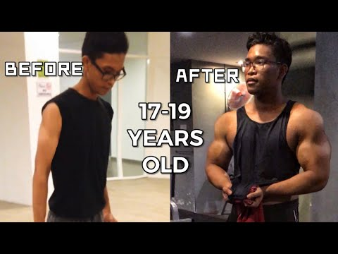 19 YEARS OLD | NATURAL BULKING TRANSFORMATION | My journey