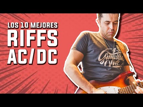 Los 10 Mejores Riffs de AC/DC (Tributo a Malcolm Young) | Guitarraviva