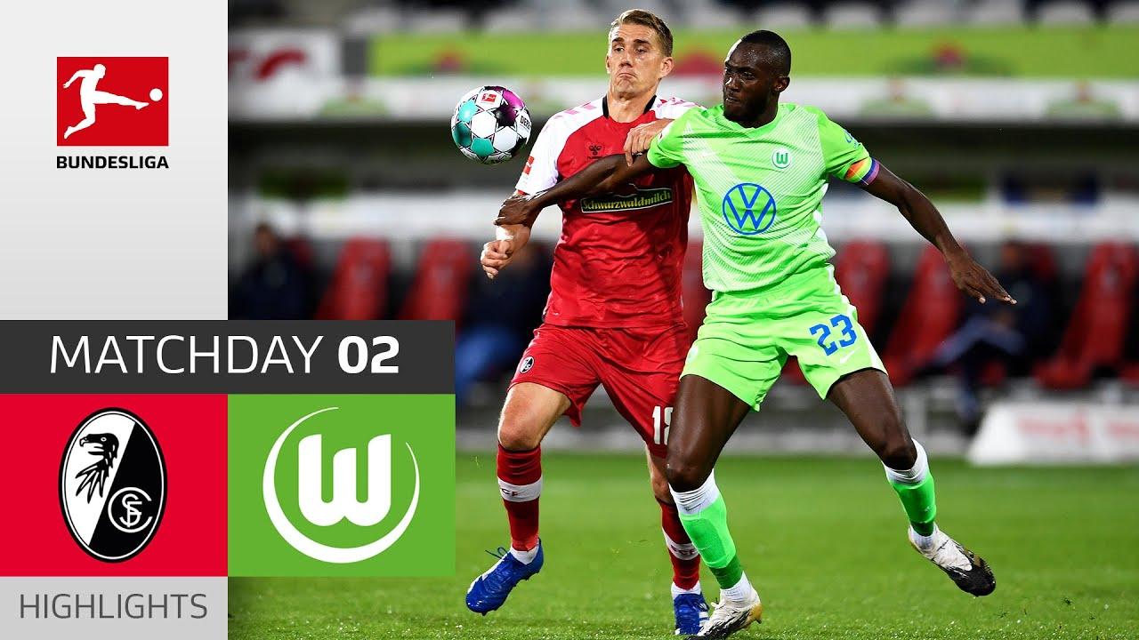 Download SC Freiburg - VfL Wolfsburg | 1-1 | Highlights | Matchday 2 – Bundesliga 2020/21