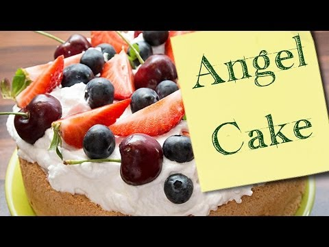 торт пища ангела фото
