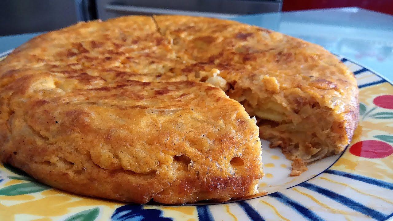 Tortilla De Patatas Con Sobrasada Recetas Mallorquinas