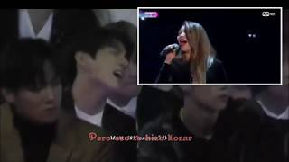 Gambar cover Jungkook reaction to Ailee I will go to you like the first snow Sub español
