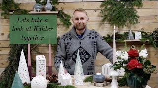 DISTINCTIVE DANISH DESIGN | Take a close look at KÄHLER with Russell New | Scandinavian Homeware