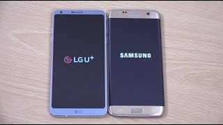 LG G6 vs Samsung Galaxy S7 Edge - Speed Test!