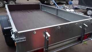Прицеп легковой с бортами и тентом ССТ-7132-06