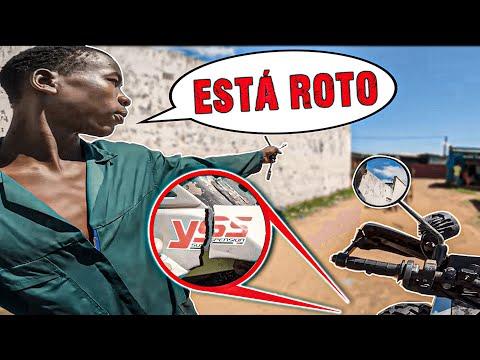 La MOTO se cae a PEDAZOS...   Vuelta al Mundo en Moto   África #130