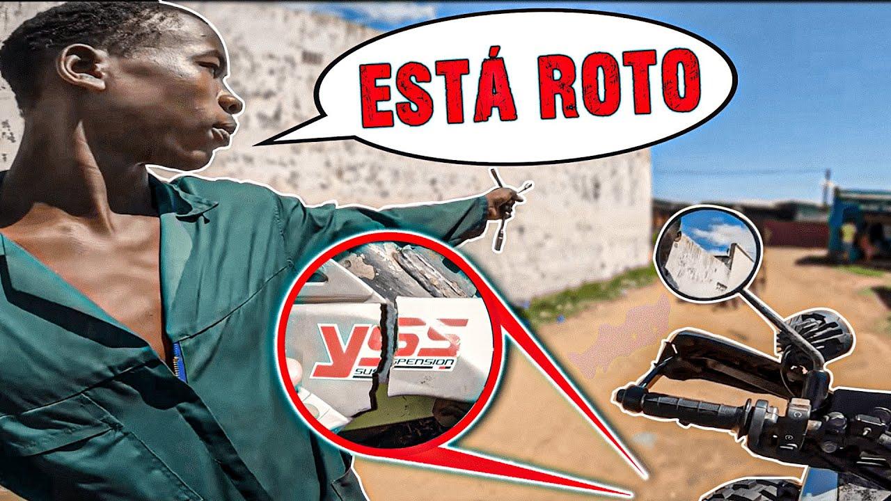 La MOTO se cae a PEDAZOS... | Vuelta al Mundo en Moto | África #130