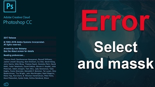 error select and mask not working