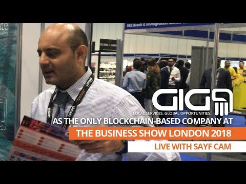 GIG9's Linguistic Expert, Sayf Cam at the biggest business-related event in Europe