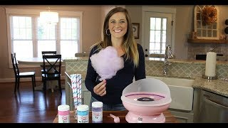 How to use the Cotton Candy Express Cotton Candy Machine