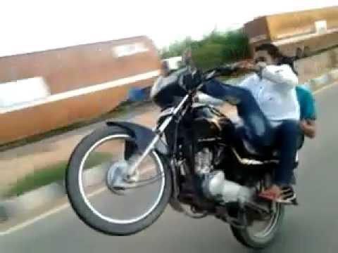 Bike Wheeling In Bangalore Sayed S Youtube