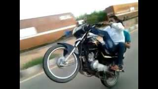 Bike Wheeling in Bangalore(Sayed's)