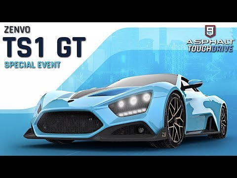 ASPHALT 9: LEGENDS – Zenvo TS1 GT Anniversary  Special Event Day 1