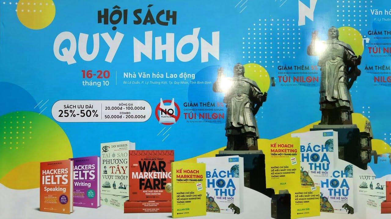 Hội Sách Qui Nhơn (16-19/10/2019)| Nhà VHLĐ Tỉnh Bình Định