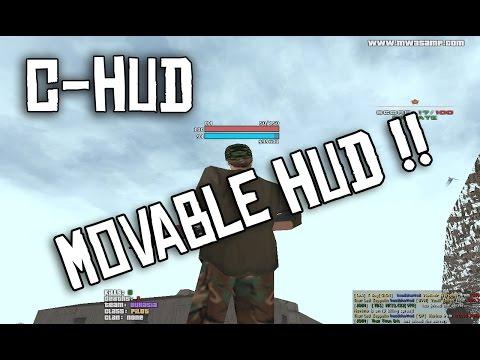 C-HUD - Movable HUD mod for SA-MP ! - Популярные видеоролики!