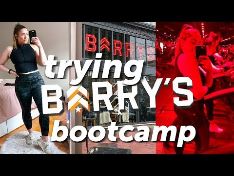 Trying Barry's Bootcamp for the FIRST TIME!