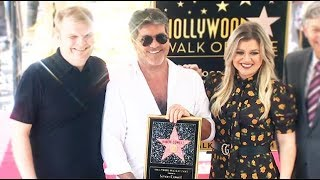 Simon Cowell given star in Hollywood