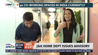 Dr Ritesh Malik on the Coworking Boom in India with Ridhima Bhatnagar of India Ahead News
