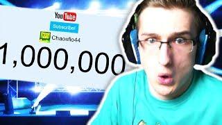 1.000.000 ABONNENTEN **LIVE REAKTION**