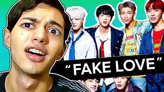 REACTING TO 'FAKE LOVE' FOR THE FIRST TIME - (BTS)