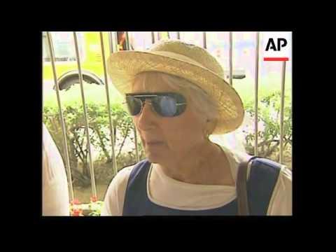 REPLAY Nancy Reagan then public visit casket