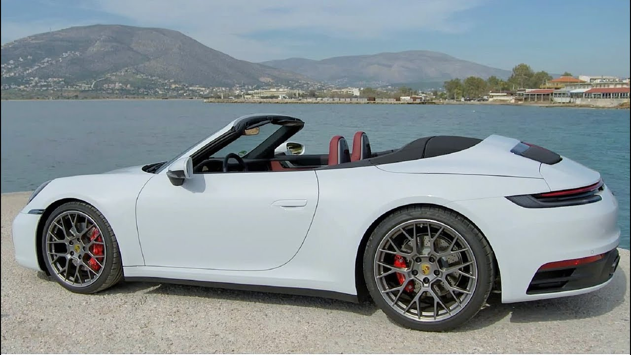 2020 White Porsche 911 Carrera S Cabriolet Pure Driving Pleasure Youtube