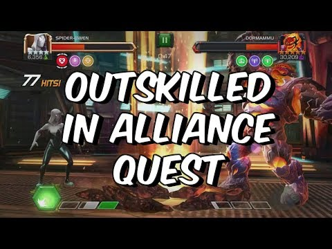 Outskilled in Alliance Quest - Marvel Contest Of Champions