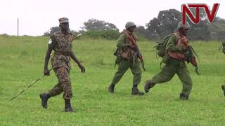 TRAINING FOREIGN SOLDIERS: 62 equatorial guinea soldiers passed out in Jinja