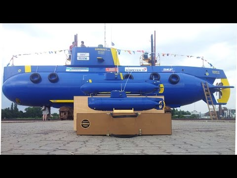 "Amateur built submarine ""Euronaut"" - Best of"