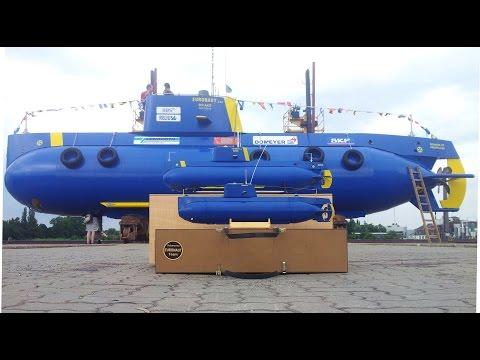 """Amateur built submarine """"Euronaut"""" - Best of"""