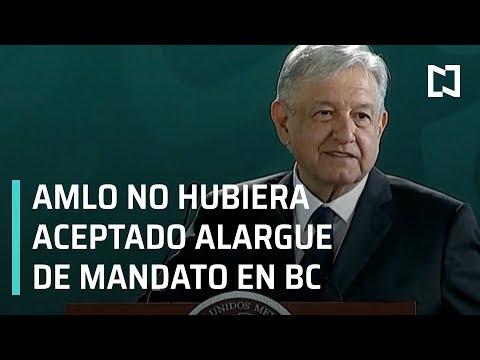 AMLO Rechaza Ampliación De Mandato En Baja California - En Punto Con Denise Maerker