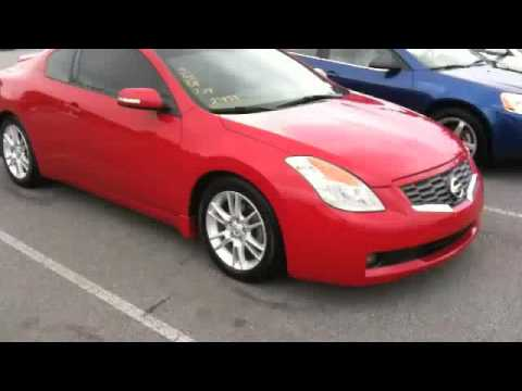 2008 Nissan Altima Coupe 3.5 SE Start Up, Exhaust, And Full Tour   YouTube