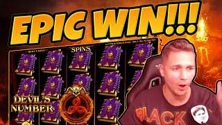 BIG WIN!!! Devils Number BIG WIN - Online Slots from CasinoDaddy (Gambling)