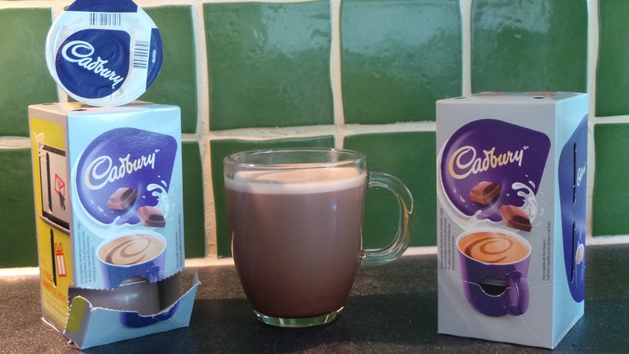 How To Make Smooth Silky Cadbury Hot Chocolate Bosch Tassimo