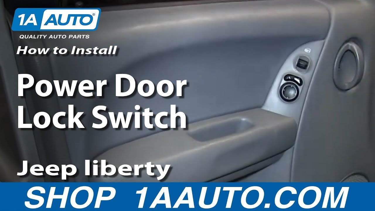 How To Install Replace Power Door Lock Switch 2004 07 Jeep