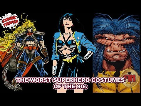 The Worst New Superhero Costumes of the 90s