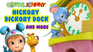 Hickory Dickory Dock and more | Rhymes for Kids | Infobells