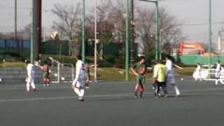 2008年ラストマッチ。Wヘッダーです。川口SCトレーニングマッチ.