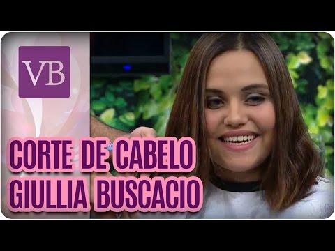 Corte de cabelo: Giullia Buscacio  - Você Bonita (08/09/16)