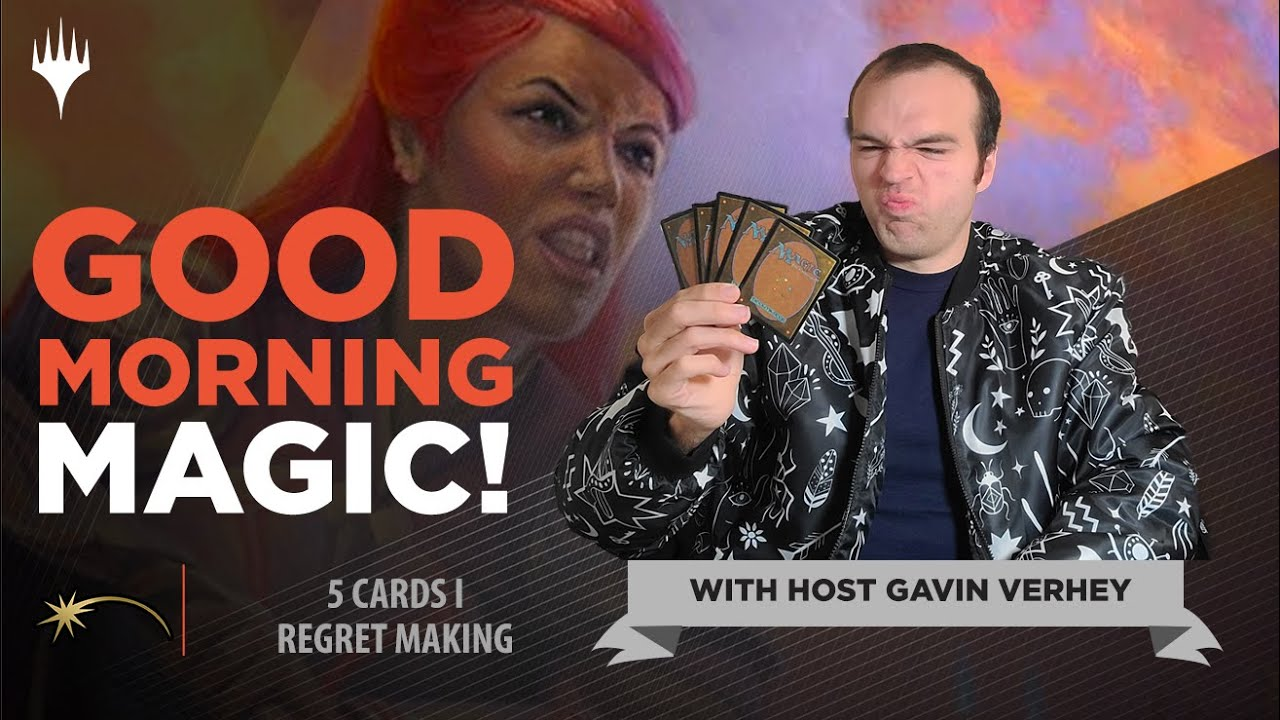 Download 5 Cards that I Regret Making! | Good Morning Magic | Magic the Gathering Game Design