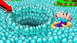 NOOB MADE DIAMOND POOL To GET NEW GIRLFRIEND! (Minecraft)
