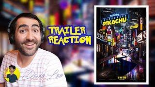 POKÉMON: DETECTIVE PIKACHU - Trailer Reaction