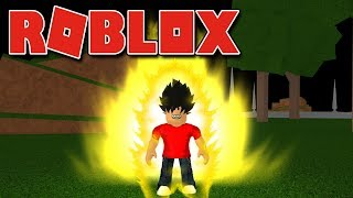 Roblox-the WORLD of SAIYANS (DRAGON BALL RAGE)