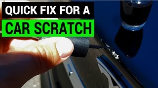 Tesla Tips: How to Fix a Scratch with a Nail Polish